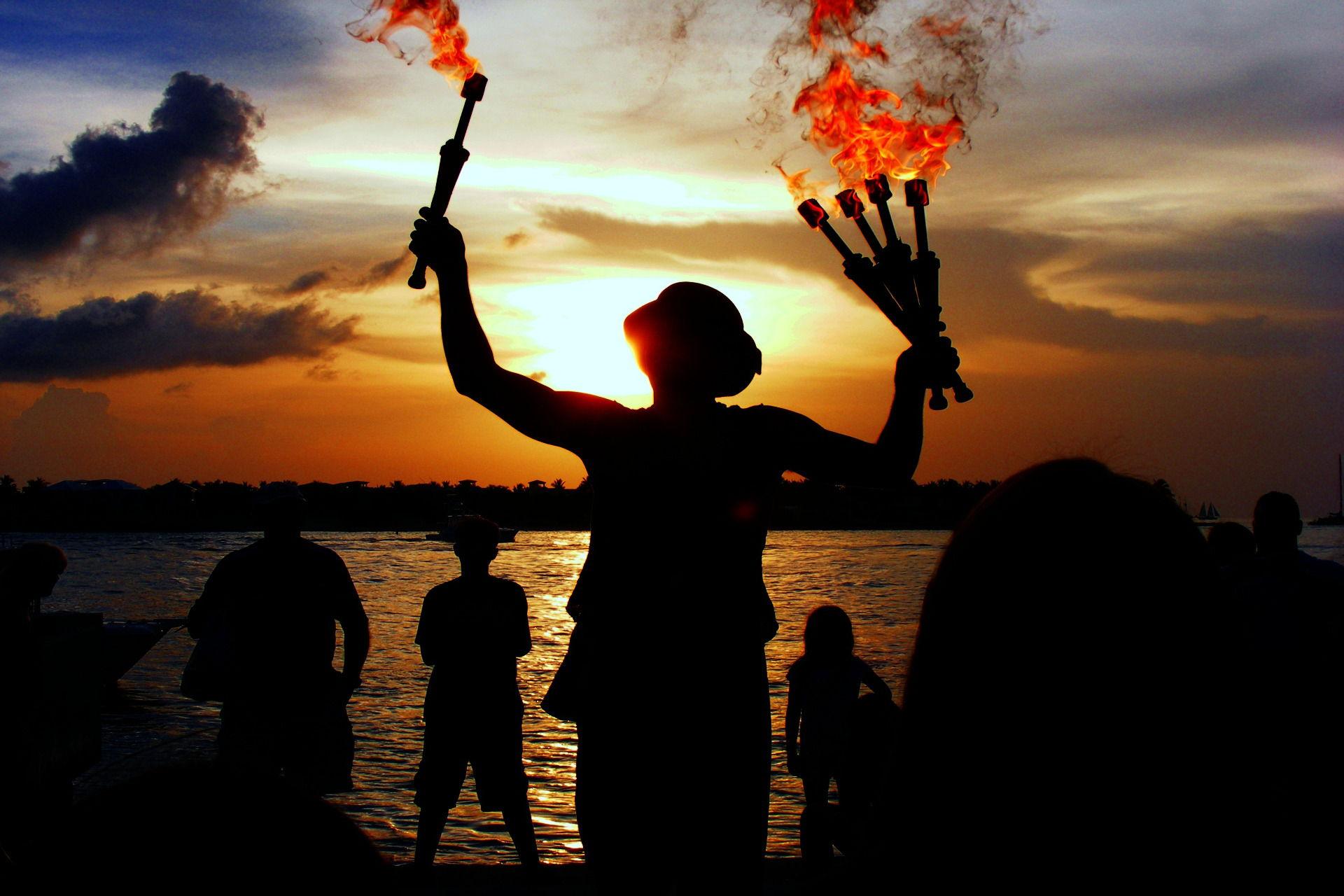 Jongleur avec flammes Easy Party